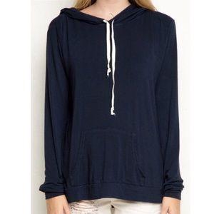 Brandy Melville black Layla hoodie ✨